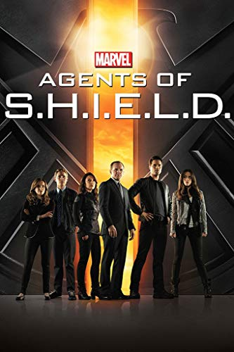 WOAIC Agents of S.H.I.E.L.D. Movie Poster for Bar Cafe Home Decor Painting Wall Sticker Frameless 24X36 Inch(60X90CM)