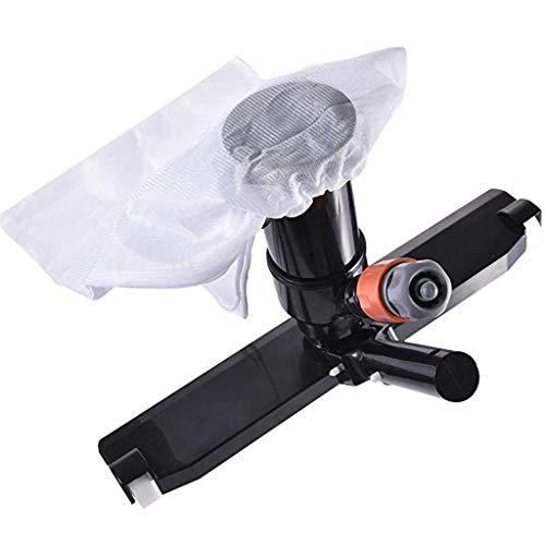 GKanMore Swimming Pool Vacuum Head with Bag Brush and EZ Clip Handle 14' Wide Vacuum Cleaner for...