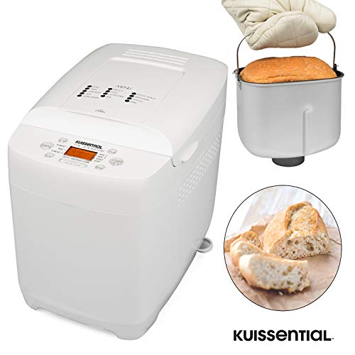 Why Should You Buy Kuissential 2-Pound Programmable Bread Machine w/Auto Fruit and Nut Dispenser, 13...