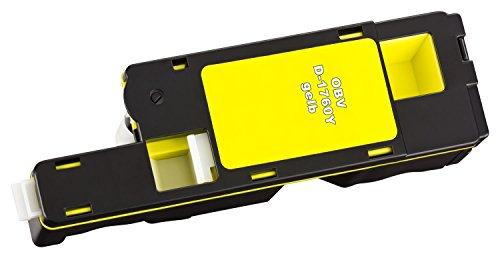 OBV 4 x Kompatibler Toner für Dell C1760 C1765 C1760nw C1765nf C1765nfw schwarz, cyan, magenta, gelb