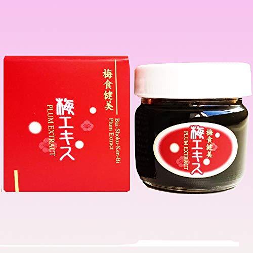 紀州南高梅「梅食健美 梅エキス 90グラム」クエン酸 ムメフラール 含有。キュンっと 酸っぱい 梅エキス です。お湯 水 で溶かし ハチミツ で甘みを加えると飲みやすいです。