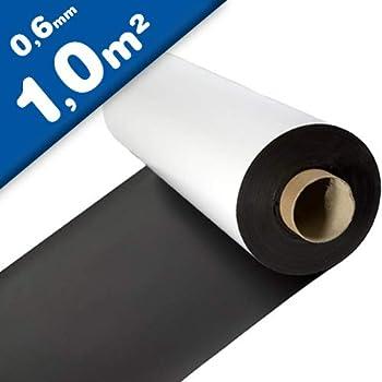 Lámina magnética blanco mate 0,4mm x 1m x 1m - crear imanes ...