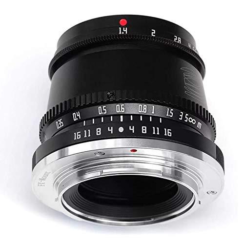 TTartisan - Obiettivo per fotocamere fisse F1.4 APS-C da 35 mm con apertura a fuoco manuale compatibile con fotocamera Fuji X Mount X-A1 X-A10 X-A2 X-T3 X-T4 X-A7 X-M1 X-M2 X-H1 X-T1 X-T10
