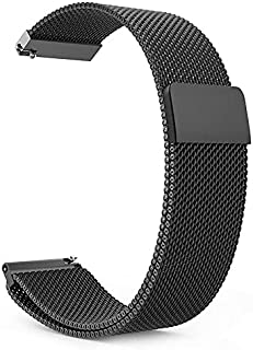 22mm Watch Strap/Band Compatible With Samsung Galaxy Watch 46mm / Gear S3 Frontier / Gear S3 Classic Huawei Watch Stainles...