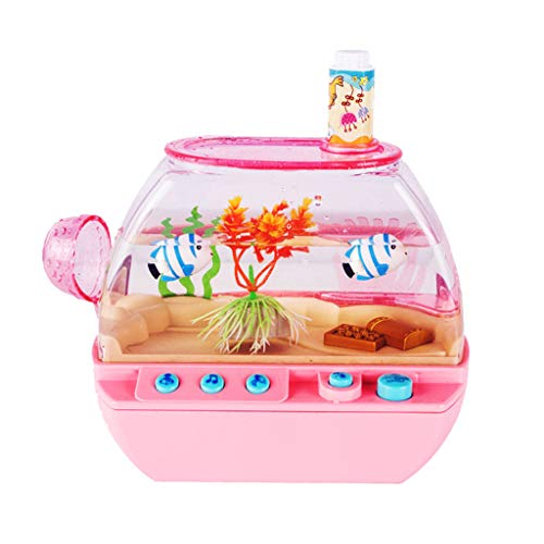 Hunpta @ Kinder Rollenspiel Spielzeug Interessante Aquarium mit Musik und Licht Elektrische Fische Tank Set Lernspielzeug Kinderferien Spielzeug Partyspiele Geschenk für Jungen Mädchen