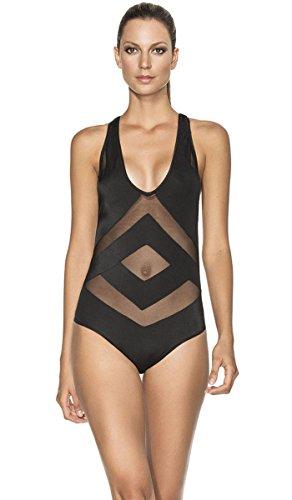 AGUA BENDITA Swimwear 2016 Bendito NOCTURNO One Piece Swimsuit Beachwear