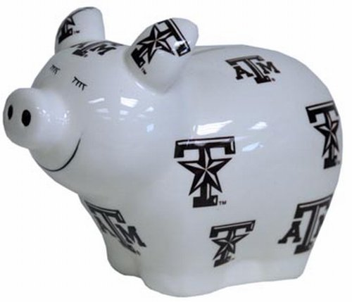 Game Day Outfitters NCAA Texas A & M Aggies Bank Pig LG