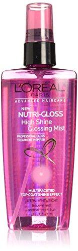 L'Oral Paris Advanced Haircare Nutrigloss High Shine Glossing Mist, 3.4 fl. oz. (Packaging May Vary)