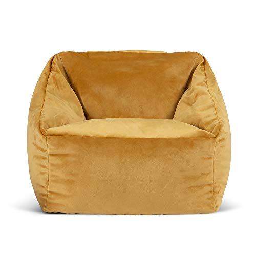 icon Mini Natalia Velvet Bean Bag Armchair, Kids Bean Bag Chair, Luxury Bean Bags for Children