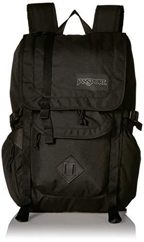 JanSport Hatchet Travel Backpack - 15 Inch Laptop Bag Designed for Urban Exploration, Black