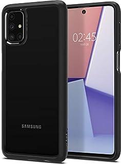 Spigen Ultra Hybrid Designed for Galaxy M31s Case (2020) - Matte Black