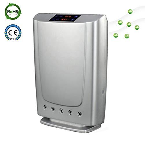 Plasma Luft Reiniger Für Heim und Büro Luft Reinigung Mit Big Power Mit Ionisator Anion Und Ozon Reiniger Dropshipping (Silber)