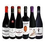 赤ワイン セット 6本 フルボディ パーカーポイント90点以上 フランス イタリア スペイン 輸入ワイン 飲み比べワインセット 京橋ワイン