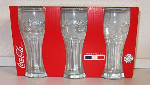 Verre / Cola - Cola / 3 verres / 3 x 0,3 l / Original / Made in France