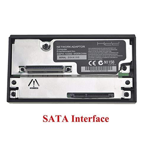 Rekkles SATA/IDE-Port Network Adapter HDD SATA-Netzwerkadapter Fest Adapter Festplatte Ersatz für Play Station 2 Spiele-Konsole