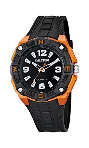 Calypso K5634 - Reloj, Correa de Caucho Color Negro