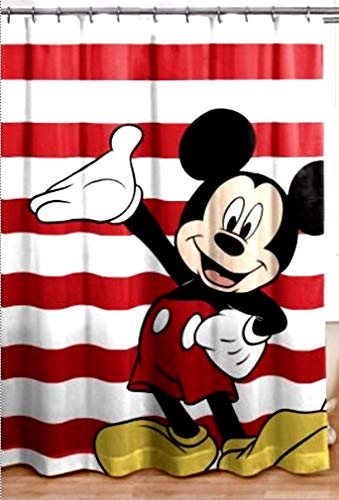 Franco Mickey Mouse Duschvorhang