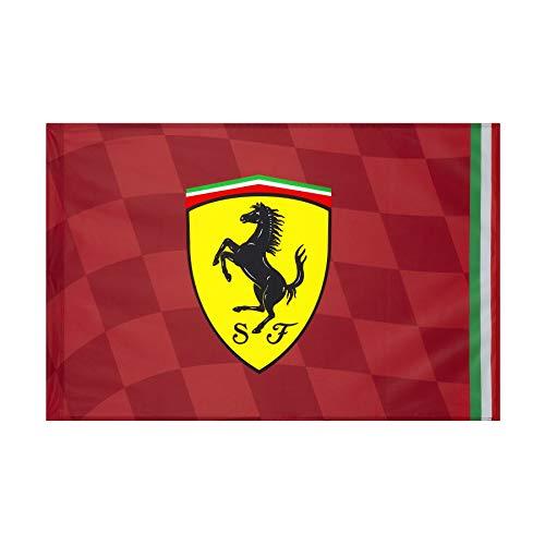 Scuderia Ferrari F1 Fahne, 140 x 100 cm