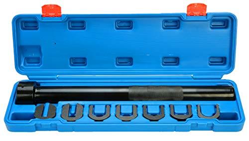 FreeTec Spurstangengelenk Schlüssel Spurstangenkopf Abzieher Werkzeug 8tlg Auto Inneres Zugstangenwerkzeug