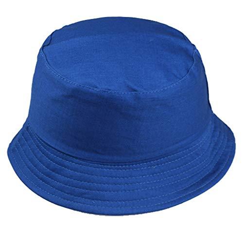 Fannyfuny Gorra Hombre Gorras Mujer Sombrero Verano Viseras Sombrero de Playa Sombrero para el Sol de Color Solido Sombrero Infantil con Ala Tipo de Pescador Gorra Protección Viseras