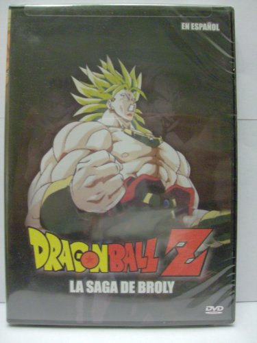 Dragon Ball Z La Saga De Broly espanol latin import