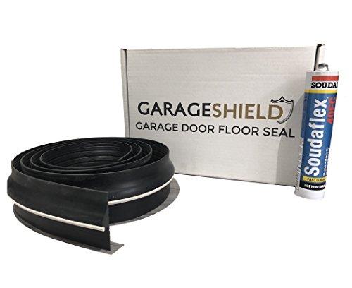 Garage Door Floor Seal Weather Threshold Draught Excluder - Includes Free...