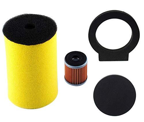 1YW-14451-00-00 Air Filter for Yamaha Big Bear Timberwolf Kodiak Moto-4 with Oil Filter Parts
