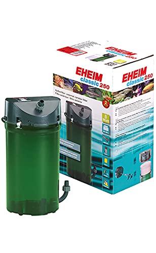 Eheim Classic Garni Filtre Extérieur avec Masse Filtrante/Robinets pour Aquariophilie