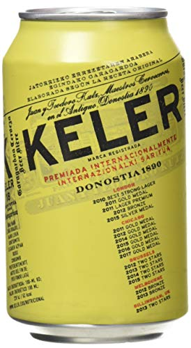 Keler Cerveza - Paquete de 24 x 330 ml, total de 7920 ml
