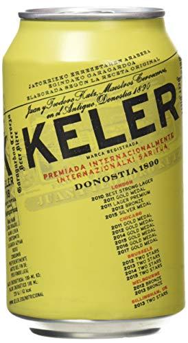 Keler Cerveza - Paquete de 24 x 330...