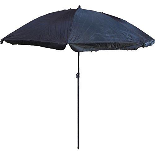 Armeeverkauf Sonnenschirm 180cm Schirm schwarz Black Gartenschirm Tarnschirm
