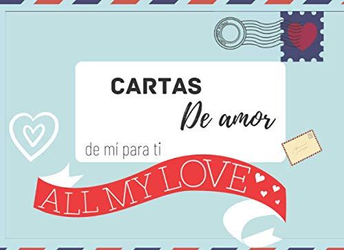 Cartas de amor: Regalos para novias y novios, Rellena las líneas, páginas...