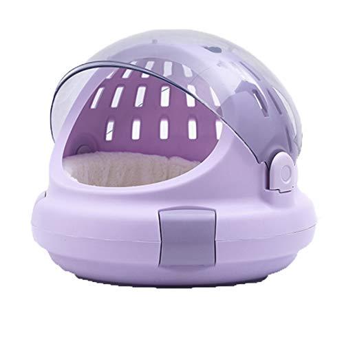 STYY Bolsa de Gato Transparente, Caja de Aire de Mascotas Multifuncional, Basura para Gatos, Bolsa de Espacio Conveniente para Salir