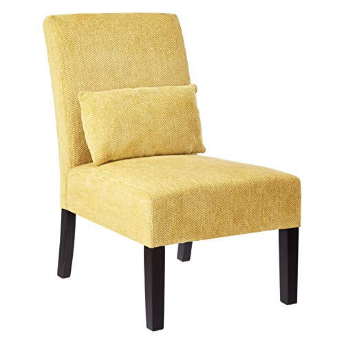 Red Hook Accent Living Room Chair Yellow