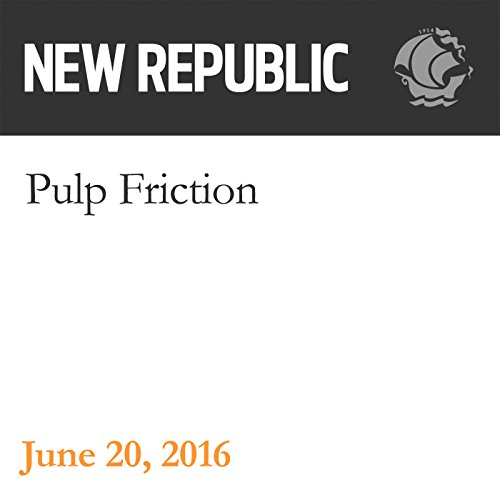 Pulp Friction audiobook cover art