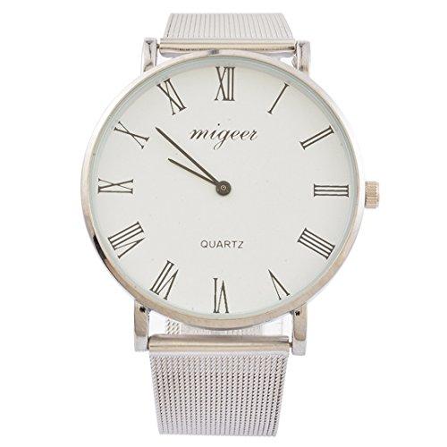 Souarts Paar Armbanduhr Deko Uhr mit Batterie Charm Geschenk (#2)