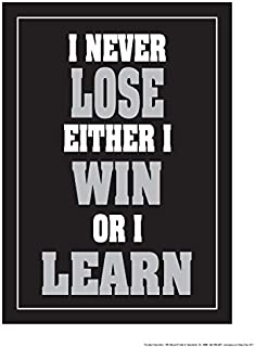 Fitnus Chart Series I Never Lose Either Win or I Learn 18