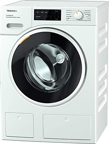 Miele WSI863 Freestanding Washing Machine with TwinDos And Quick Powerwash, 9 kg Load, 1600rpm spin, White [Energy Class A]