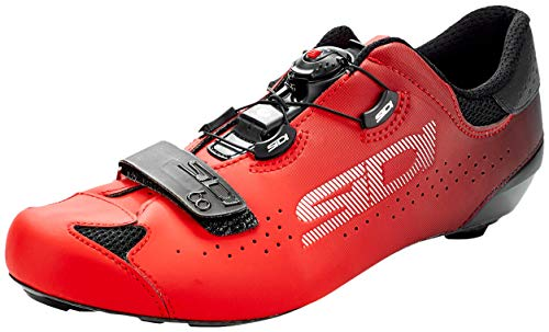 Sidi Sixty Road Shoes Black Red Size 43.5