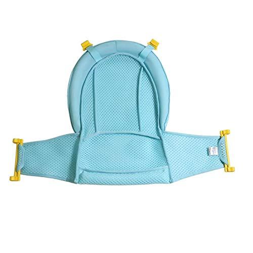 Baby Badewanneneinsatz Sitz, Badewannensitz Neugeborene Dusche Mesh für Badewanne verstellbar Unterstützung Badewannen, für Neugeborene Baby und Kleinkinder Baby Badezubehör