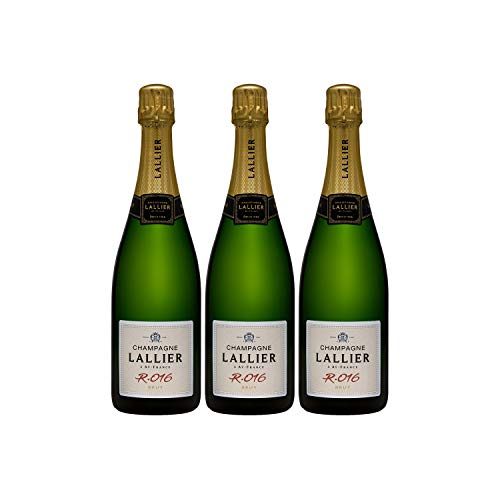 Champagne Grand Cru Série R16 - Champagne Lallier - Rebsorte Pinot Noir, Chardonnay - 3x75cl