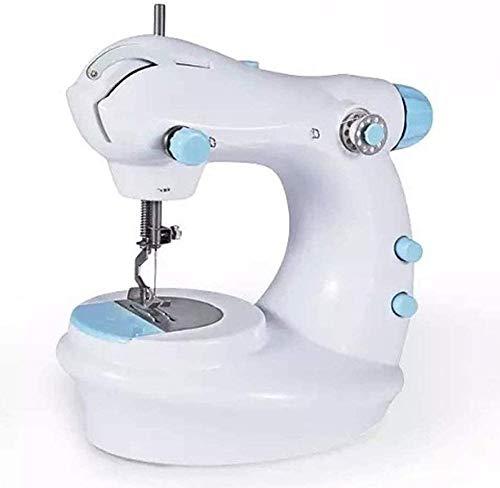 AIWKR Draagbare Naaimachine, Naaimachine mini draagbare elektrische handmatige huishoudelijke zware dienst onderhoud lokale joystick, beperkt tot een verscheidenheid van stoffen