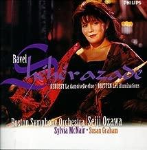 Ravel: Shéhérazade - Debussy: La damoiselle elue - Britten: Les illuminations / McNair, Graham, Ozawa