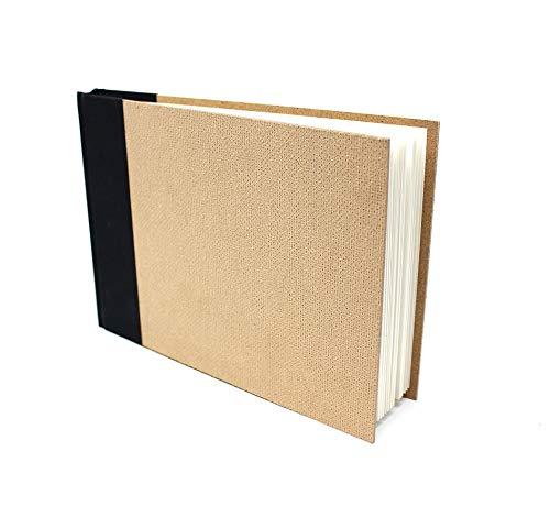 Artway Enviro - Gebundenes Skizzenbuch - 100% Recycling-Zeichenpapier - Hardcover - 92 Seiten mit 170 g/m² - 1 x A5 Querformat