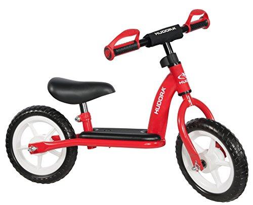 HUDORA loopfiets Toddler voor de kleinsten - 10 inch, rood - 10340