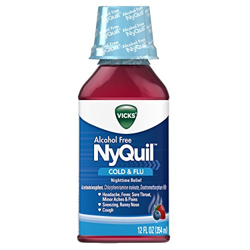 Cough Cold and Flu Nighttime Relief, 12 Fl Oz