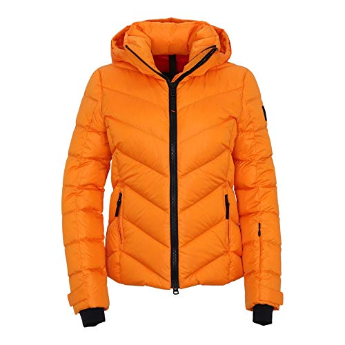 Bogner Fire + Ice Ladies Sassy2-D Orange, Damen Daunen Isolationsjacke, Größe 36 - Farbe Bright Orange