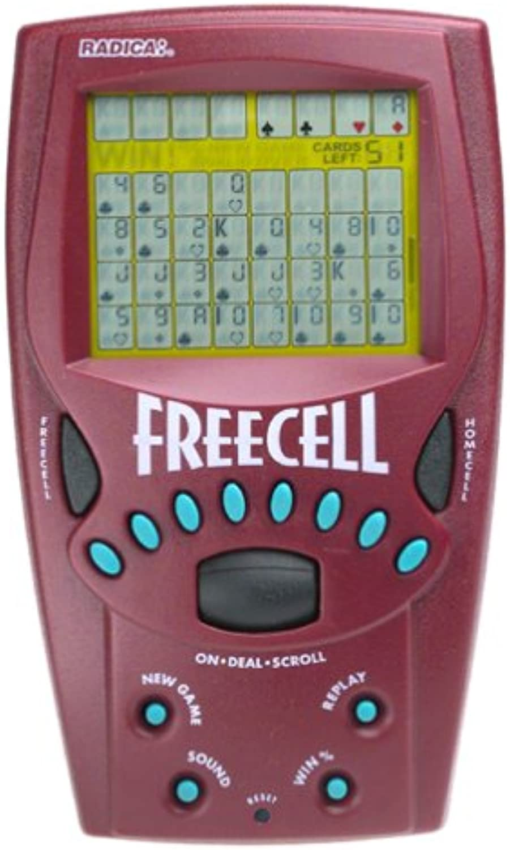 a la venta Handheld FreeCell FreeCell FreeCell Solitaire Juego - 8019 by Radica  venta con descuento