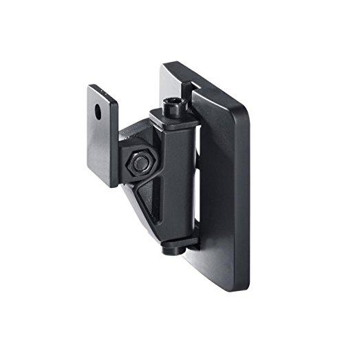 Teufel Wandhalter AC 3500 SM (STK.) Schwarz USB HDMI Cinch Klinke Koaxial Lautsprecherständer Boxenständer