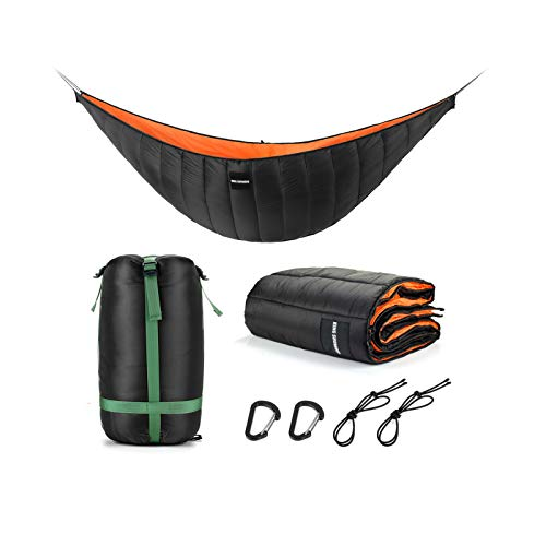 KING SHOWDEN Hammock Underquilt Lightweight Camping Winter Sleeping Bag Under Quilt Blanket Ultralight Underquilt Keep Your Warmer Saves Space Portable